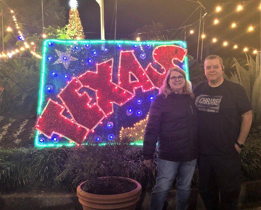 CJ Houston Zoo Lights