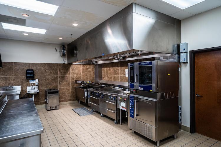 Test kitchen at Chrane Foodservice Solutions test kitchen with Electrolux appliances